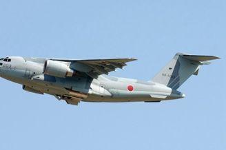 比不上运20:日本C2运输机服役