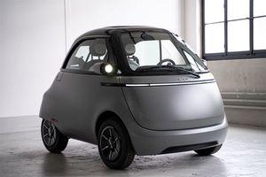 电动微型车Microlino的第三款原型车已完成设计