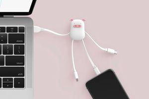 这只USB集线器有点可爱