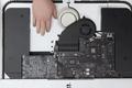 2020款27寸iMac拆解 内部结构与前代基本一致 内存仍可更换