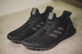 阿迪达斯推出3D打印跑鞋