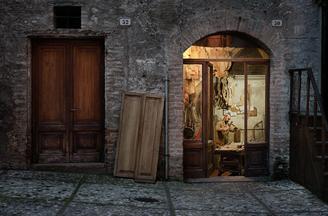 意大利风情店面摄影