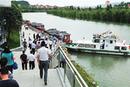 湄江旅游航道通航
