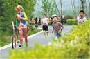 4月21日去武陵源跑一场惬意的微马联赛