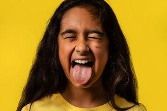 儿童模仿微信表情头像